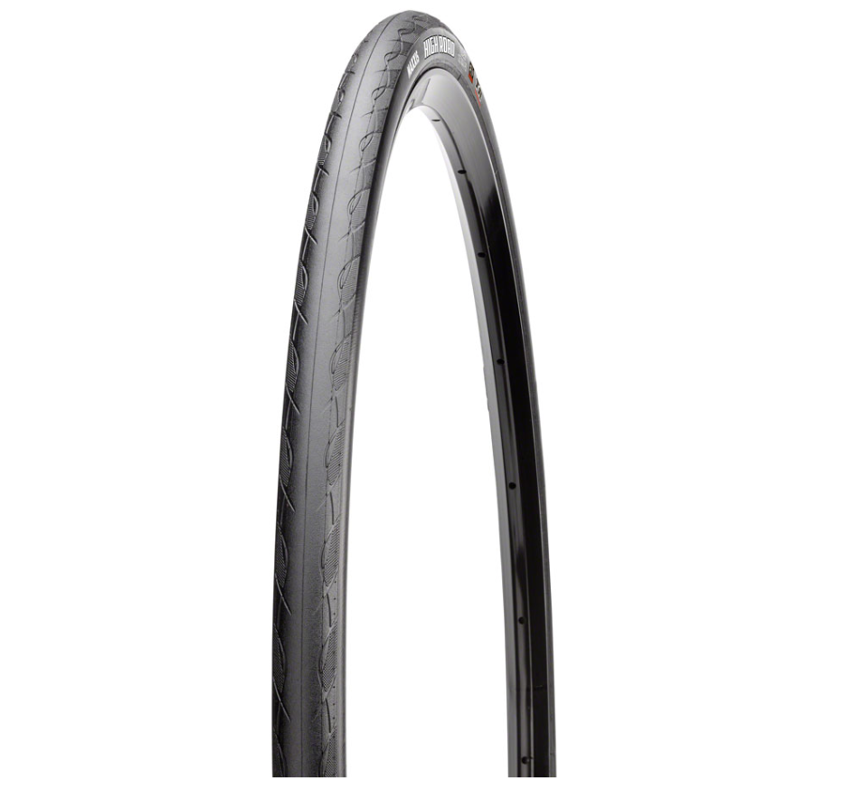 Maxxis Maxxis High Road Tire 700 x 25, Folding, 120tpi, HYPR Compound, K2 Protection, Black