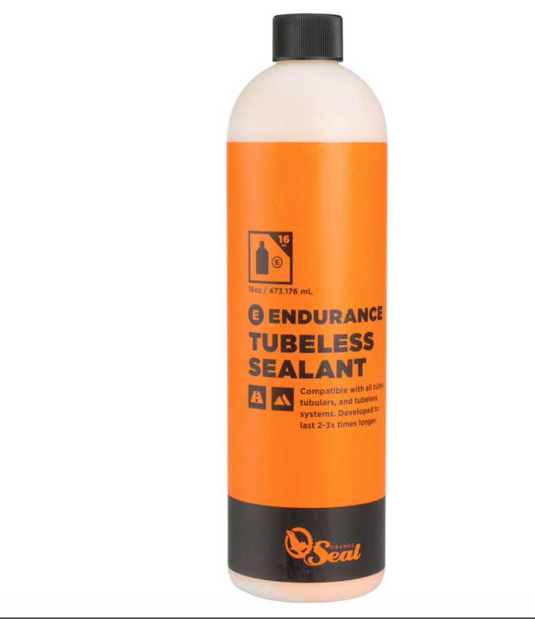Orange Seal Orange Seal Endurance Tubeless Sealant, 16oz refill