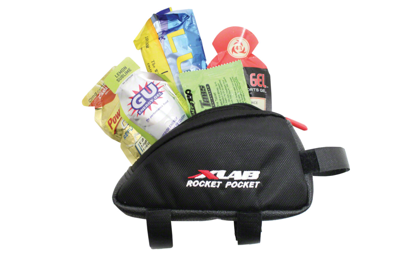 XLAB XLAB Rocket Pocket Top Tube/ Stem Bag: Black