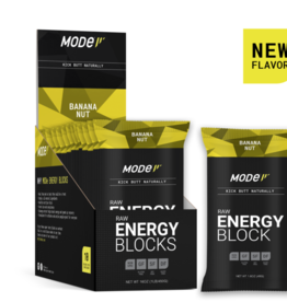 MOde Sports Nutrition Mode Raw Energy Blocks, Banana Nut, Single