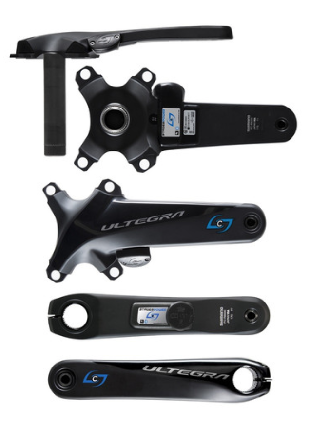 Stages Power GEN 3 STAGES POWER LR | SHIMANO ULTEGRA R8000 CRANKSET WITH BI-LATERAL POWER LEFT RIGHT