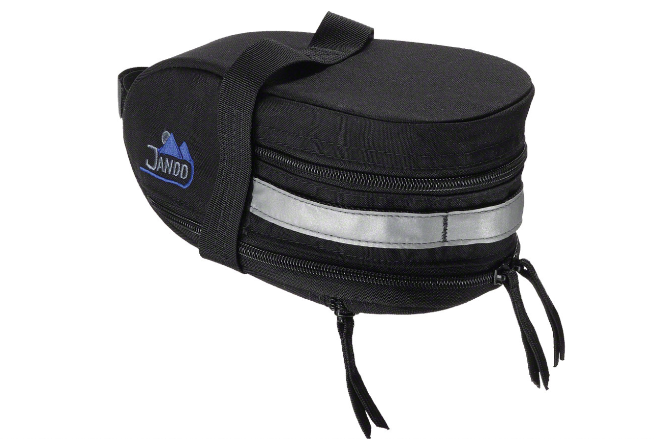 Jandd Jandd Mountain Wedge Expandable Seat Bag: Black