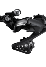 SHIMANO REAR DERAILLEUR, RD-R7000, 105, GS 11-SPEED, TOP NORMAL SHADOW DESIGN, DIRECT ATTACHMENT, BLACK