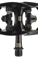 "iSSi iSSi Trail III Pedals - Dual Sided Clipless with Platform, Aluminum, 9/16"", Black"