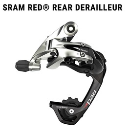 SRAM SRAM Red WiFli Rear Derailleur - 11 Speed, Medium Cage, Black