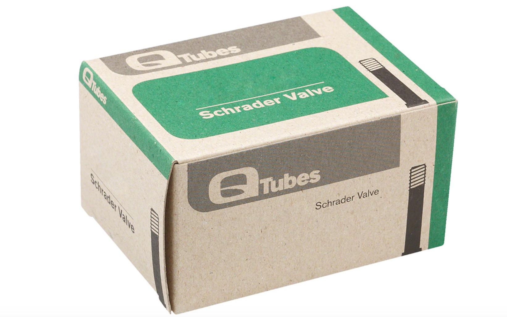 """Q-Tubes Q-Tubes 26 x 1.9-2.125"""" 48 mm Long Schrader Valve Tube inner tube"""
