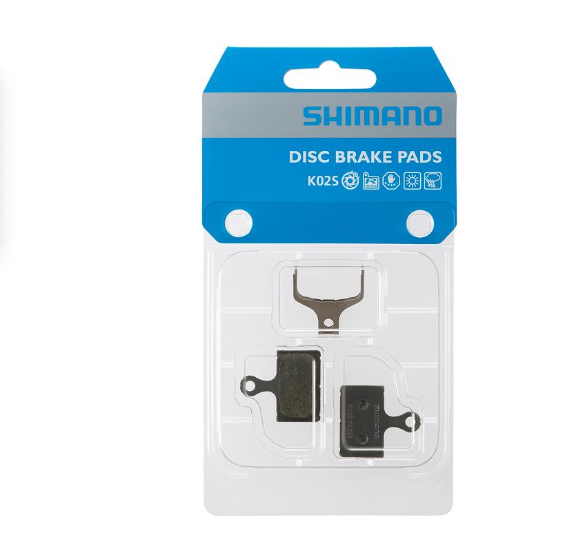 Shimano Shimano Disc Brake Pad Resin Pad (K02S) & Spring