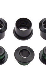 SRAM SRAM Red 22 Chainring Bolt Set, Fits Force 22 and Rival 22~ 5 bolts, 4 nuts, 1 spacer