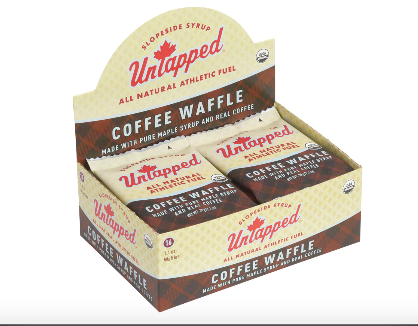 Untapped Untapped Organic Waffle Box of 16