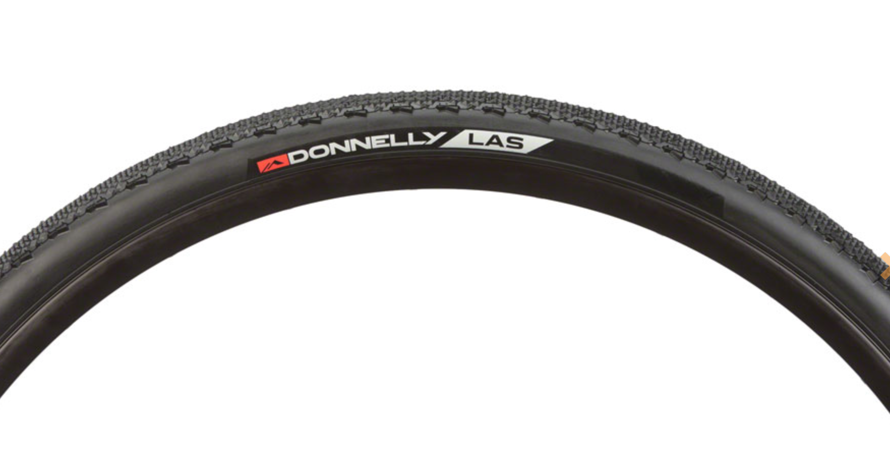Donnelly Sports Donnelly Sports LAS Tire - 700 x 33, Clincher, Folding, Black, 120tpi
