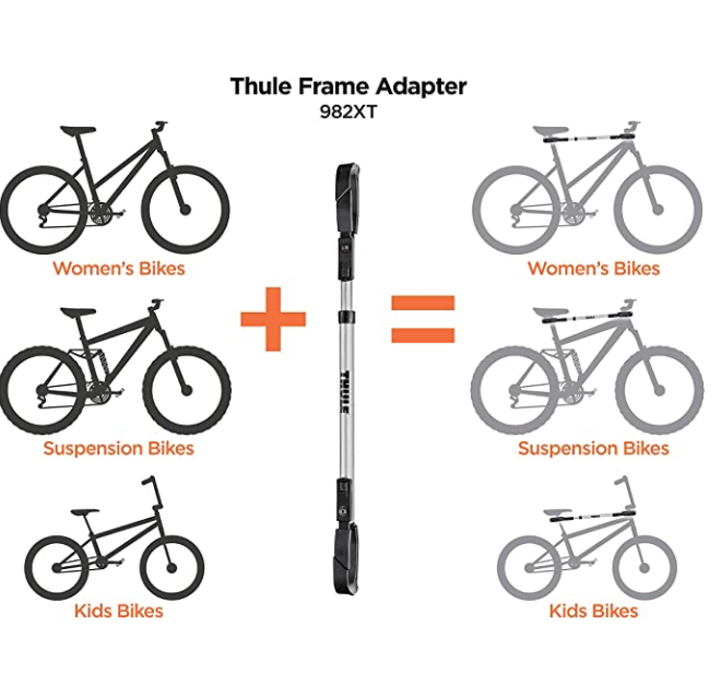 Thule Thule 982XT Top Tube Frame Adapter