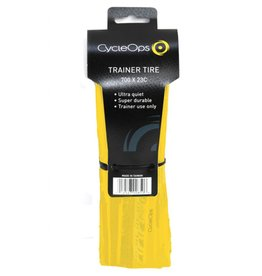 Cycleops Cycleops 700X23 Trainer Tire Yellow