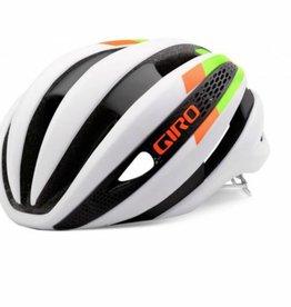 Giro GIRO HELMET SYNTHE MATTE WHITE/LIME/FLAME