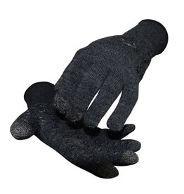 DeFeet International Defeet DuraGlove ET Charcoal Wool w/Black