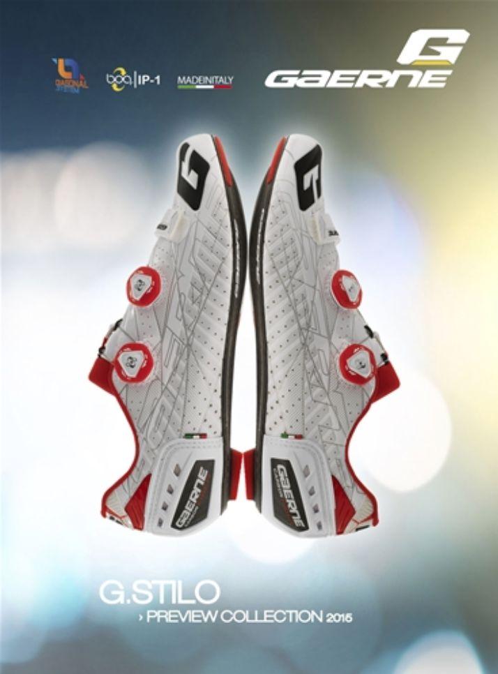 Gaerne Shoes Gaerne 2016 Carbon G.Stilo - white/red