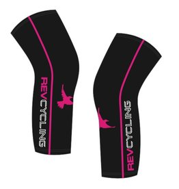 DNA REV Cycling Knee Warmers, Black