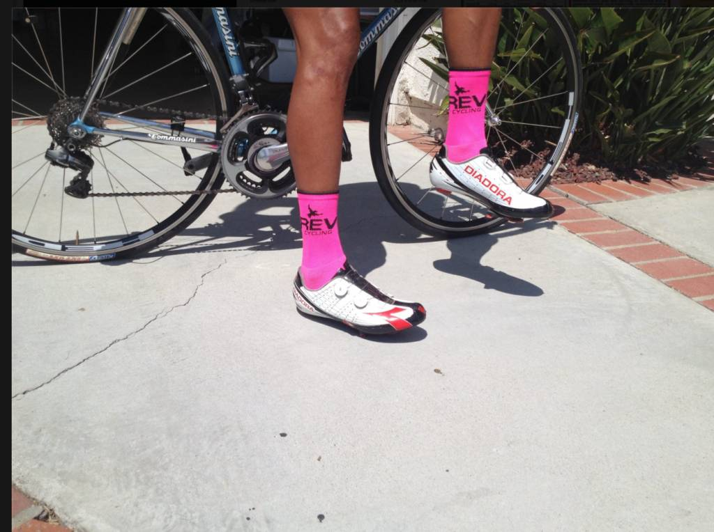 DeFeet International Defeet REV Custom Pink Sock