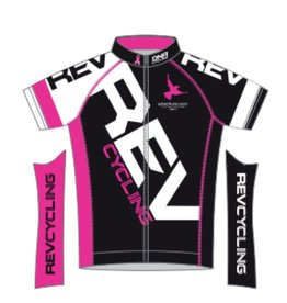 DNA REV Cycling Jersey, Ladies, Black DNA