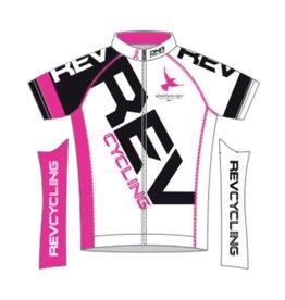DNA REV Cycling Jersey, Men, White DNA