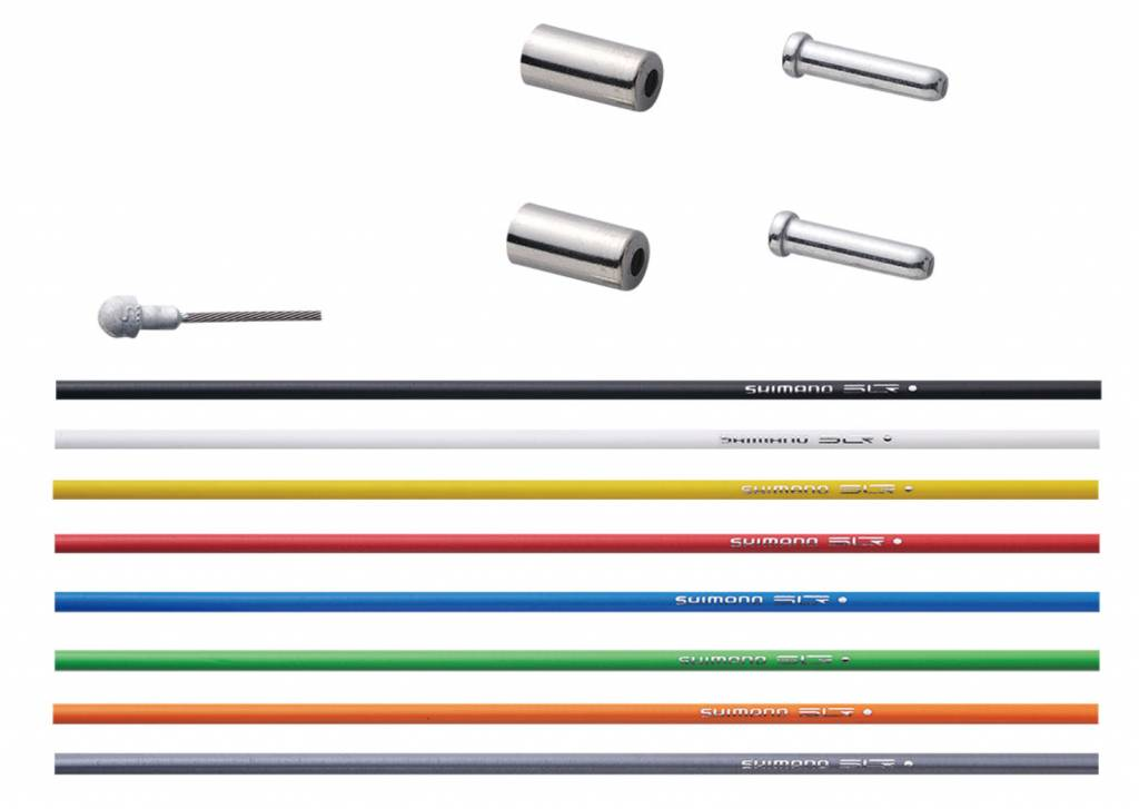 Shimano SHIMANO ROAD PTFE SHIFT CABLE SET BLACK