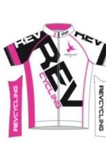 Biemme REV Cycling Jersey, White, Men, Biemme