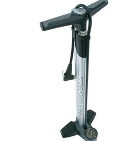 Topeak Topeak JoeBlow Ace - 260 PSI Silver Smarthead, Padded Handle, Wide Base, Large Dial Gauge