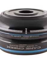 CANE CREEK - AHEADSET CANE CREEK 40-SER IS 1-1/8 SHORT 41MM H/TUBE, TOP+BTM, BLK CVR