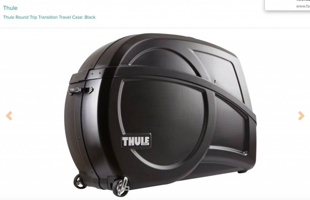 Thule Thule Round Trip Transition Travel Case: Black