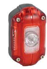 SERFAS SUPERBRIGHT 60 LUMEN RECHARGABLE REAR LIGHT WITH AWS