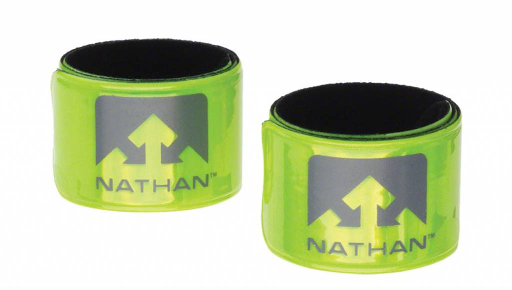 Nathan Nathan Reflex Reflective Snap Bands: Pair, Yellow