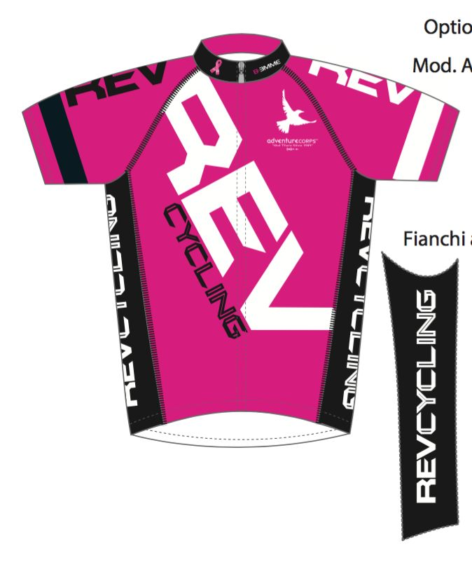 Biemme REV Cycling  Jersey, Men, Pink, Biemme
