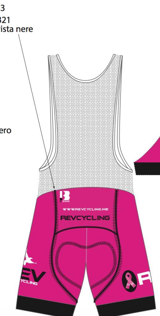 Biemme REV Cycling, SHORTS, Ladies, Pink, Biemme THIS IS A SHORT NOT A BIB
