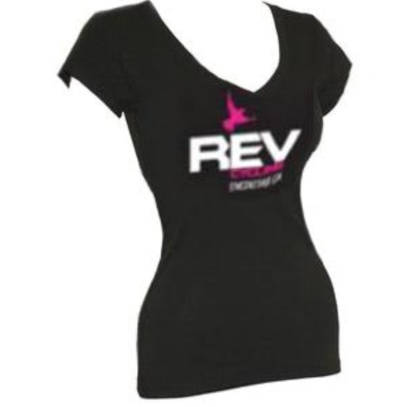 Prographics REV Cycling T-Shirt, Short Sleeve, V-NECK,  LADIES