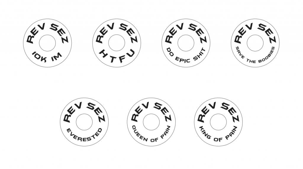 Kustom Caps Custom REV SEZ Stem Caps