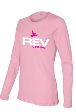 Prographics REV Cycling T-Shirt, LONG Sleeve, PINK,  LADIES