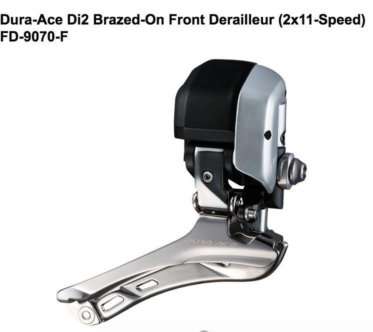Shimano Shimano FRONT DERAILLEUR, FD-9070-F, DURA-ACE Di2,BRAZED-ON TYPE