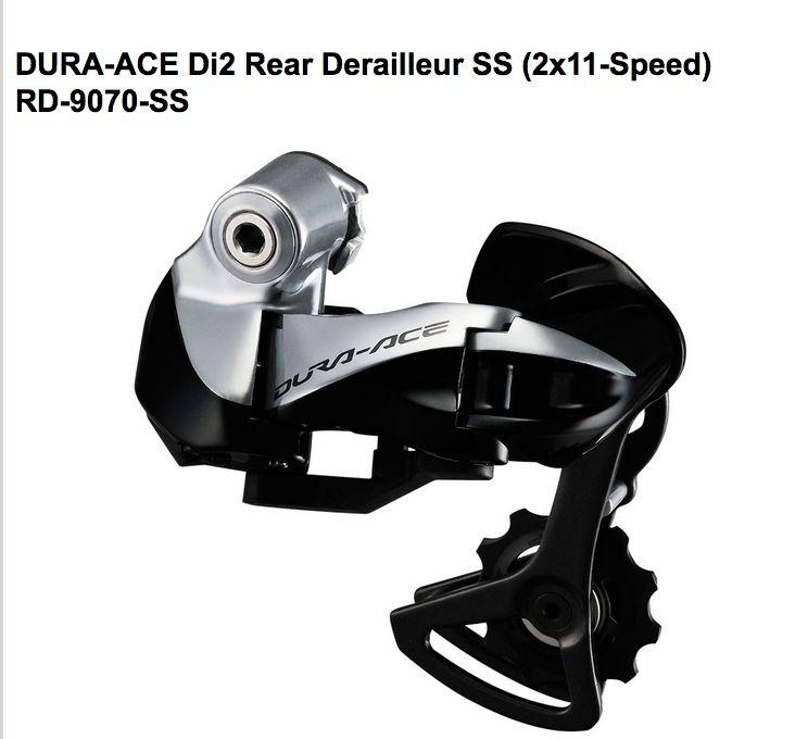 Shimano Shimano REAR DERAILLEUR, RD-9070, DURA-ACE Di2, SS 11-SPEED