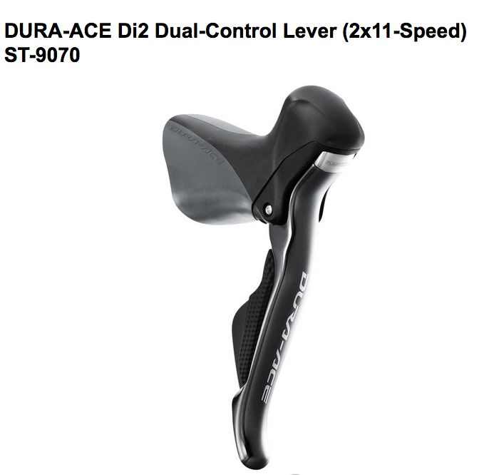 Shimano Shimano SHIFT/BRAKE LEVER SET, ST-9070,DURA-ACE Di2,11X2-SPD