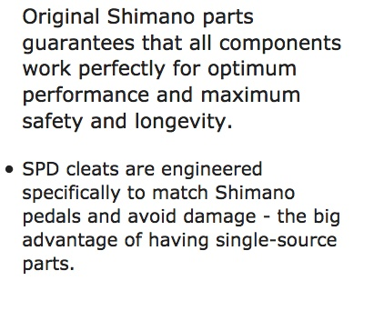 Shimano Shimano Cleat SM-SH51 CLEAT ASSEMBLY / PAIR W/O CLEAT NUT