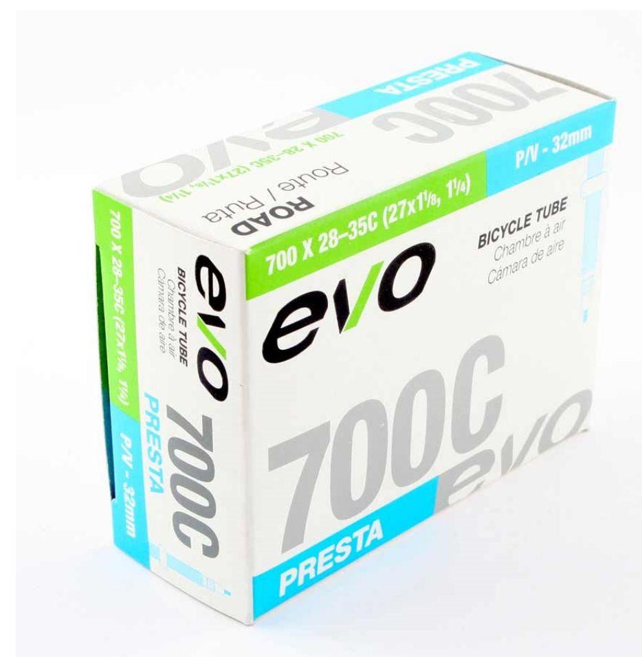 EVO EVO, Inner tube, Presta, 32mm, 700x18-25C