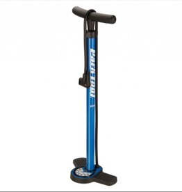 Park Park Tool PFP-8 Home Mechanic Floor Pump, Blue/Black