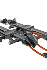 "Kuat Kuat NV 2.0 2-Bike Tray Hitch Rack: Metallic Gray and Orange, 1.25"" Receiver"
