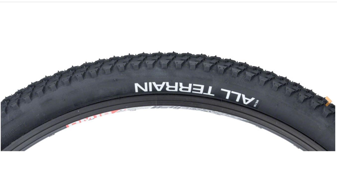 WTB WTB All Terrain Tire - 26 x 1.95, Clincher, Wire, Black, 27tpi