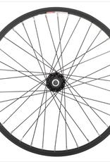 "Sta-Tru Sta-Tru Single Wall Rear Wheel - 20"", Bolt On 3/8"" x 135mm, Rim Brake, Freewheel, Black, Clincher"