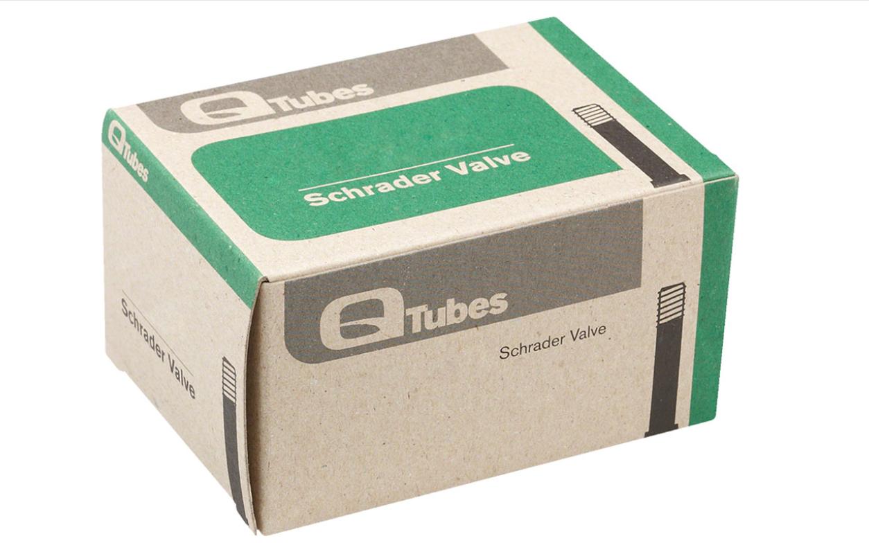 Q-Tubes Q-Tubes 700x28-32mm 48mm Long Schrader Valve Tube inner tube