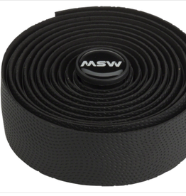 MSW MSW Anti-Slip Gel Handlebar Tape - HBT-210, Black, bar tape