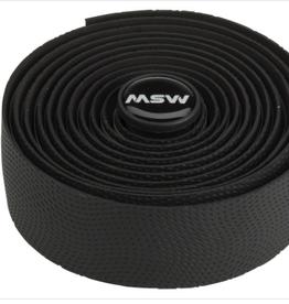 MSW MSW Anti-Slip Gel Handlebar Tape - HBT-210, Black, bar tape