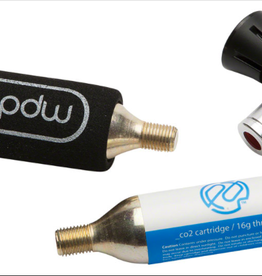 PDW Portland Design Works  PDW -It's a CO2 Inflator- CO2 Inflator: Includes Sleeve, and 2 - 16g CO2 Cartridges