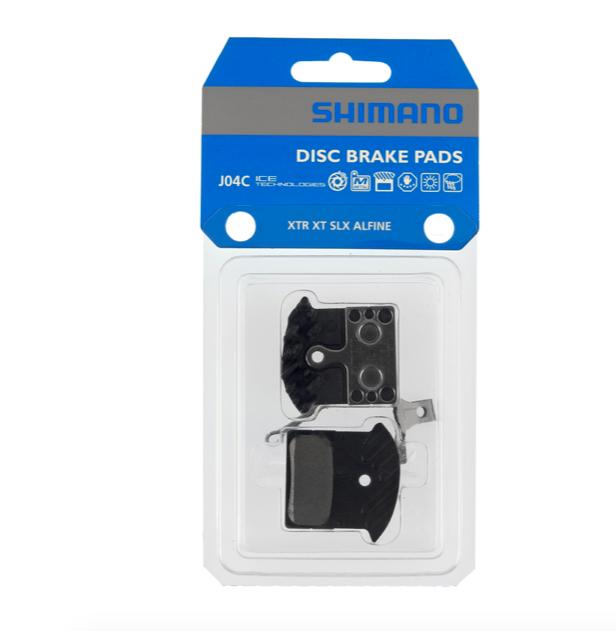 Shimano SHIMANO DISC BRAKE PAD J04C METAL PAD & Spring (W/Fin)  M9000/M8000/RS785