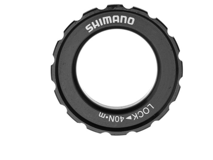 SHIMANO DISC ROTOR LOCK RING HB-M618 LOCK RING & WASHER